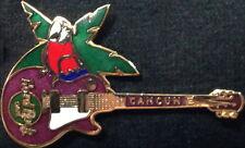 Hard Rock Cafe CANCUN 2001 Parrot Bird on Purple LES PAUL GUITAR PIN - HRC #1611