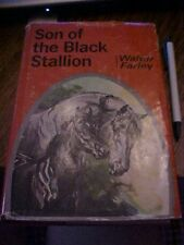 HB BOOK, SON OF THE BLACK STALLION by WALTER FARLEY ; 1950s 29th Print Red DJ