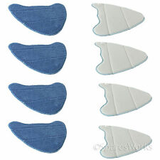 Microfibre Mop Cleaning Cover Pads Holme HDSM4001 ADSM4001 Steam Cleaner x 8