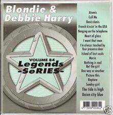 BLONDIE Debbie Harry Karaoke CDG HEART OF GLASS CaLL Me RAPTURE Maria DENIS 17Sg
