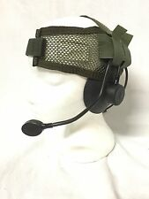 US MILITARY EAGLE FSBE LOW NOISE HEADSET MOD1 MBITR MSA SORDIN MICH SOCOM SEALS