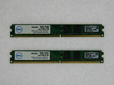 DELL 4GB (2GBX2) DESKTOP MEMORY PC2 6400 800MHz NON-ECC DDR2 SNPYG410C/2G NEW