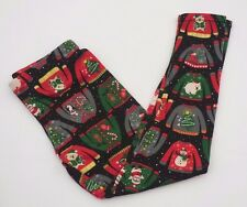 womens juniors medium CHRISTMAS UGLY SWEATERS FLEECE LINED ANKLE LEGGINGS  new