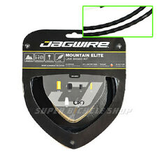 Jagwire Mountain MTB Elite Enlace Teflón Recubierto Freno Cable Kit , Negro