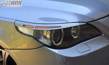 RDX Scheinwerferblenden BMW 5er E60 / E61 05-10 Böser Blick ABS Blenden Spoiler