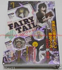 New Monthly FAIRY TAIL Collection Vol.7 DVD Goods Zeref Wendy Mavis Japan F/S