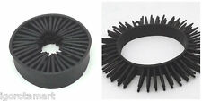Very Good Stretch Soft Spike Black Jelly Silicon Rubber Wristband Bracelets
