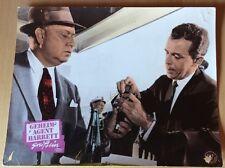 GEHEIMAGENT BARRETT GREIFT EIN / SATAN BUG Sci-Fi John Sturges Aushangfoto #