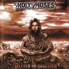 HOLY MOSES - MASTER OF DISASTER  CD 18 TRACKS HEAVY METAL HARD ROCK NEU