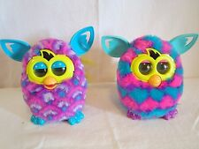 Furby 2012 Hearts Peacock Lot of 2