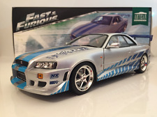 Fast and Furious 2 Fast 2 Furious Brians 1999 Nissan Skyline GT-R R34 1:18 Scale