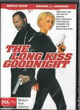 THE LONG KISS GOODNIGHT - REGION 4 NEW & SEALED DVD - FREE LOCAL POST