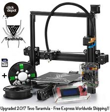 TEVO TARANTULA-PRUSA i3 3D PRINTER DIY KIT+2 FILAMENTS+8GB CARD (STANDARD BED)