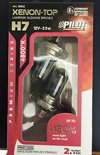 PAIR LAMPS H7 XENON TOP PILOT +120% VISIBILITY 4800°K HOMOLOGATED