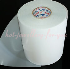 Iron on transfer paper hotfix mylar tape gems rhinestone diamante 24cm wide 1mtr