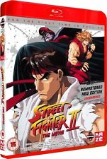 Street Fighter 2 The Animated Movie Blu-ray Region B