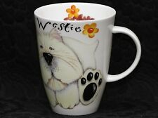 ROY KIRKHAM DOGS PAWS Fine Bone China LOUISE Mug  #3a