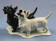 Scottish and whiteTerrier Figur Rosenthal figur,Hundefigur rosenthal figur 1944