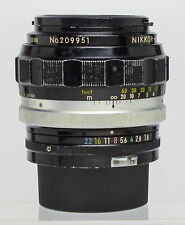 Nikon 85mm f/1.8 Lens, & HN7,  Non AI Nikkor H, F-mount Manual Focus