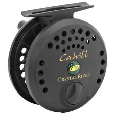 Crystal River Cahill fly fishing reel line size 5 6 7  graphite spool black