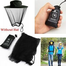 Outdoor Mosquito Bug Bee Insect Mesh Net Hat/Cap Head Face Protector Protection