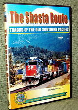 "20067 TRAIN VIDEO DVD ""THE SHASTA ROUTE"" TRACKS OF OLD SP"
