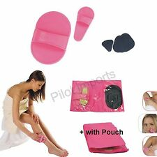 12 Pcs Smooth Legs Pads Painless Face Arm Sheer Skin Upper Lip Hair Removal Set
