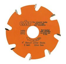 "CMT ORANGE TOOLS 8 TEETH 4"" DIAMETER BISCUIT JOINER BLADE FOR DELWALT/SKIL/BOSCH"