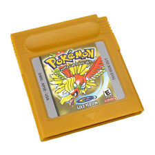 Pokemon, GBC Gold Version Game Card Game Boy Advance GB SP GBA GBM Game Console