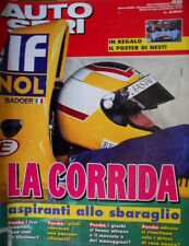 Autosprint 48 1993 Test Benetton un'illusione. Formula1: Johnny Herbert SC.54