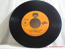 RANDY VANWARMER-b-(45)-JUST WHEN I NEEDED YOU MOST/SUZI -BEARSVILLE COLLECTABLE