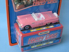 Matchbox Star Car 1957 Ford Thunderbird Happy Days Pinky's Toy Model Car 75mm