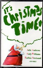 IT'S CHRISTMAS TIME! - RARE 1979 CBS HOLIDAY CASSETTE - ANTHONY NEWLEY AND MORE!