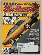 Popular Hot Rodding Magazine Vol 45 No 4 2005 April LS7 Project G/28