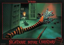 TIM BURTON THE  NIGHTMARE BEFORE CHRISTMAS 1993 VINTAGE LOBBY CARD #4