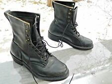 "1960's Knapp 7"" Work / Lineman Boots / US Men: 7 D / Made in America / Pre-owned"