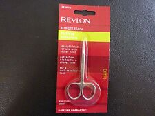 Revlon Straight Blade Cuticle Scissors - Brand New / Sealed