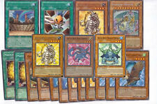 Yugioh Crystal Beast Deck Upgrade Builder Lot 44 Cards with Free Yugioh Figure