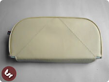 VESPA/LAMBRETTA Back Rest Slipover Cover/Pad Cream