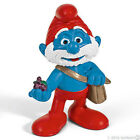 *NEW* SCHLEICH 20729 Movie PAPA SMURF WITH BAG - RARE Smurfs