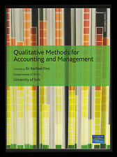 Qualitative Methods for Accounting and Management (Paperback, 2010)