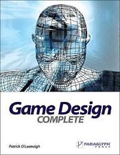 Game Design Complete by Patrick O'Luanaigh (2005, Paperback)