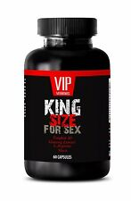 Sexual Performance - KING SIZE FOR SEX - Increase Blood Circulation - 1 Bottle