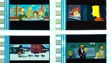 THE SIMPSONS MOVIE FILM CELL LOT OF 15 - COLLECTIBLE DVD MOVIE FREE SHIPPING