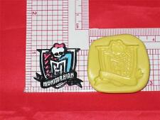 Monster High Logo Silicone Push Mold A628 For Chocolate Resin Clay Candy Soap