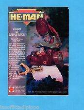 TOP990-PUBBLICITA'/ADVERTISING-1990- MATTEL HE-MAN -SKELETOR-BRAKK-TERRAPOD-SHUT