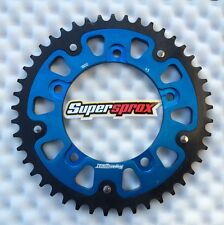 Supersprox stealth rueda dentada Suzuki GSX-R 1000, gsxr 1000, 45 Z, 1800-45, Blue