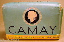 Camay Bar Soap of Beautiful Women by Procter & Gamble Made in USA Vintage Beauty