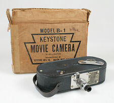 16MM ART DECO MOVIE CAMERA KEYSTONE MODEL B-1 W/ORIGINAL BOX