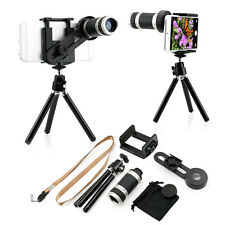 8X Zoom Camera Telephoto Lens Telescope W/ Tripod Stand For iPhone Cell 5 5S 6